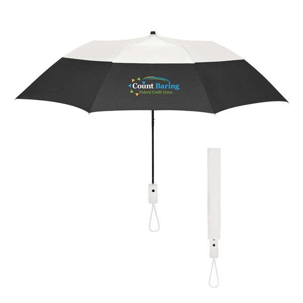 """46"""" Arc Color Top Folding Umbrella"""