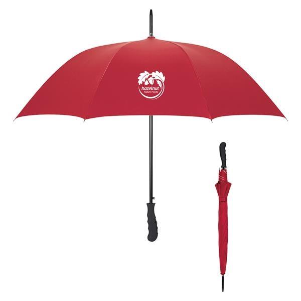 "47"" Arc Silver Lining Umbrella"