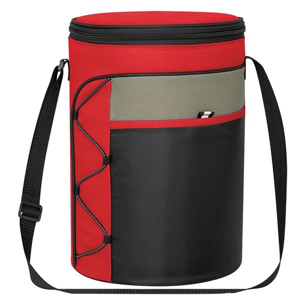 Cylindrical Insulated Kooler Bag