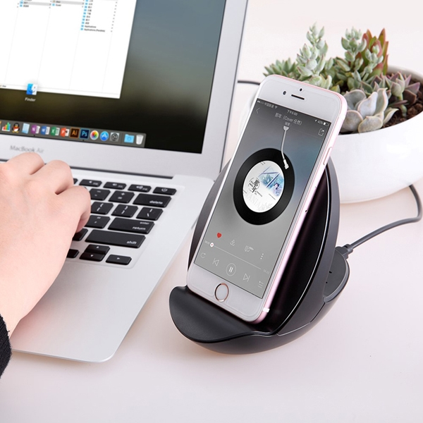 3 in 1 Wireless Charger, Bluetooth Speaker and Phone Stand