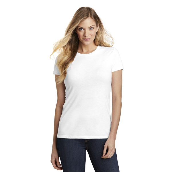 District Women's Fitted Perfect Tri Tee.