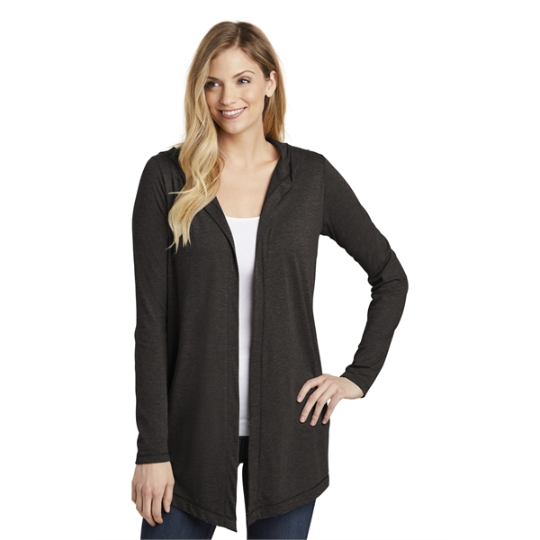 District Women's Perfect Tri Hooded Cardigan.