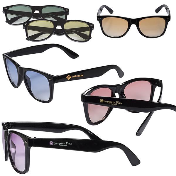 Sunglasses w/ Gradient Lenses
