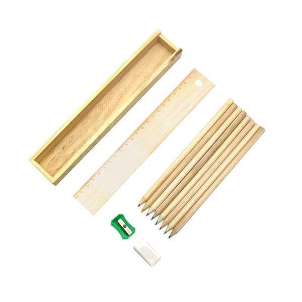 8-colors Drawing Pencil,Eraser,Sharpener Set