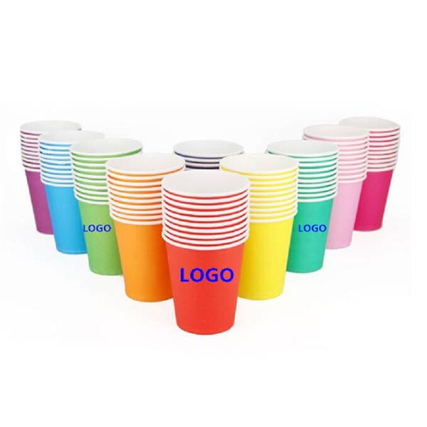 8oz Party Disposable Cups, Paper Cups For DIY