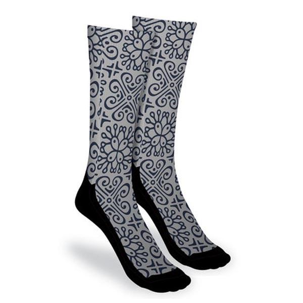 Dye-Sublimated Socks