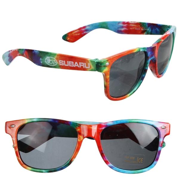 Tie-Dye Sunglasses