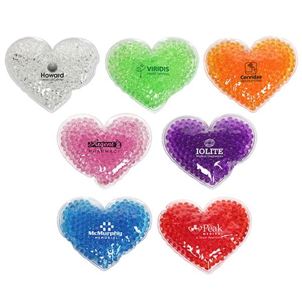 Large Heart Gel Hot/Cold Pack