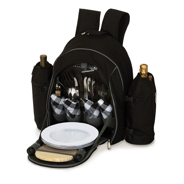 Stratton Four Person Picnic Backpack Set