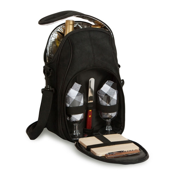 Brava Double Bottle Wine and Cheese Tote