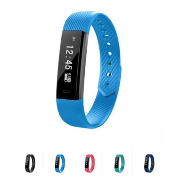 Sports Smart Bracelet with Heart Rate Monitor