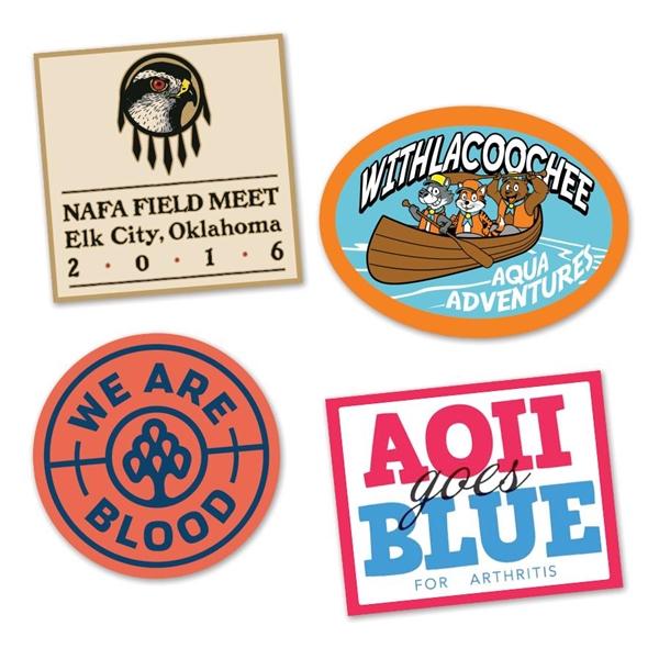 Custom Water-Resistant Stickers