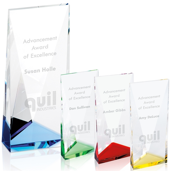 Accent Crystal Tower Award