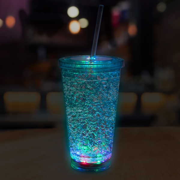 16oz LED Crystal Tumbler