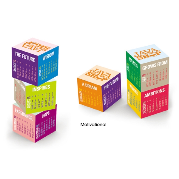 Nuvo™ Magnetic Cube Calendar