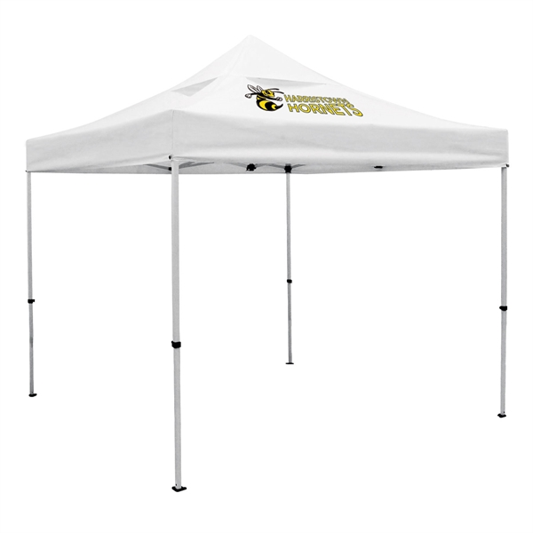 Deluxe 10' Tent, Vented Canopy (Imprinted, 1 Location)