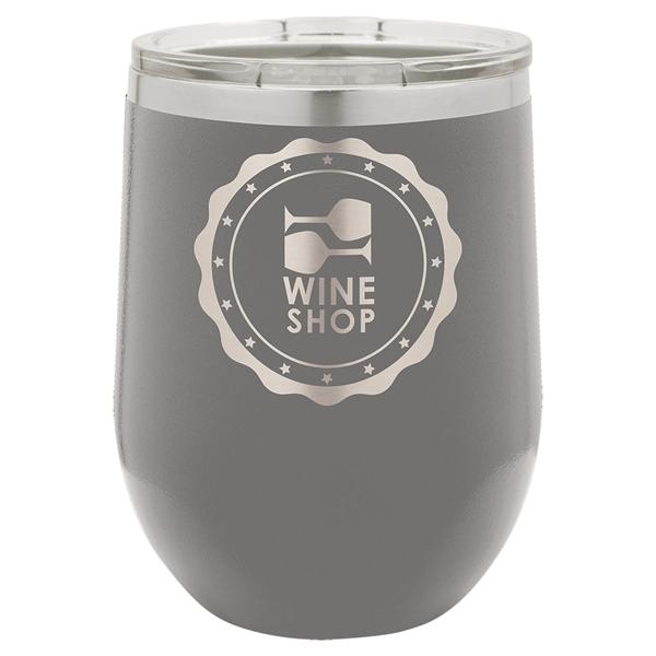 Polar Camel 12 Oz. Insulated Wine Glass