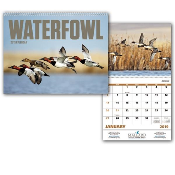 Waterfowl - Appointment Calendar - Stapled
