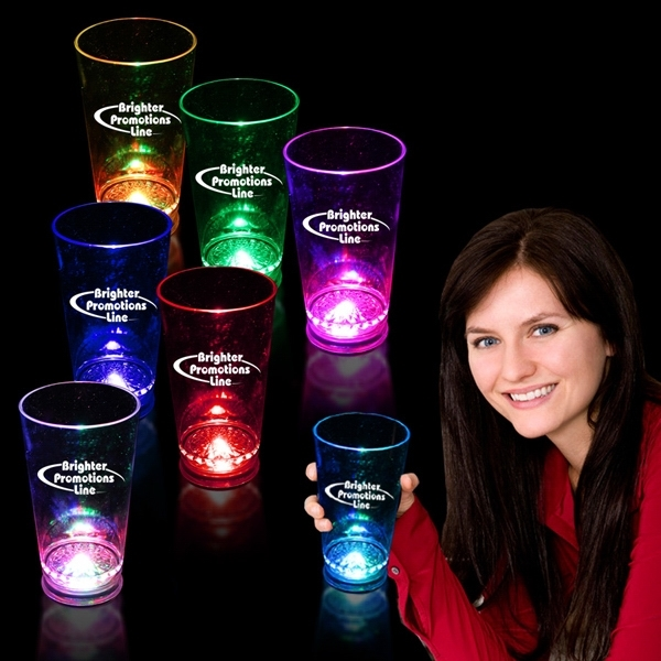 16 oz. Light Up LED Pint Glass