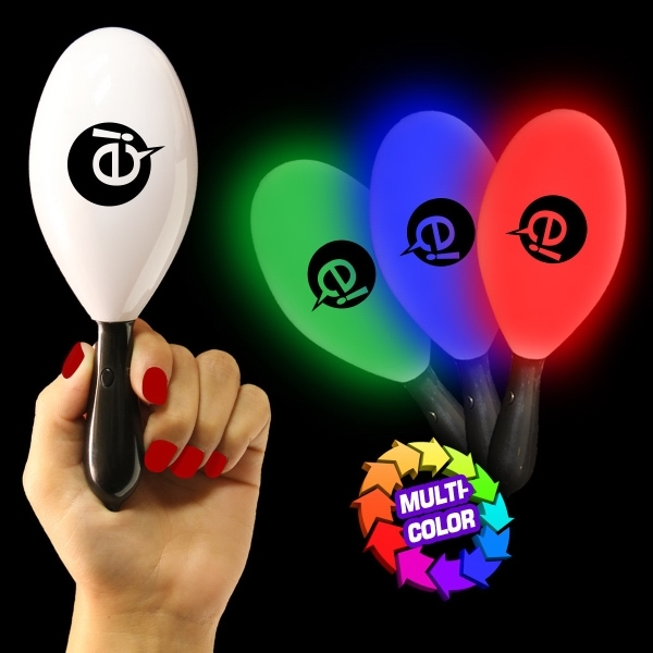 "7 1/2"" LED Light Up Maracas"