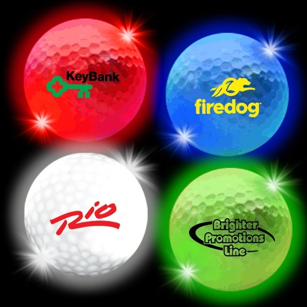 Lumi Ball LED Light Up Glow Golf Balls