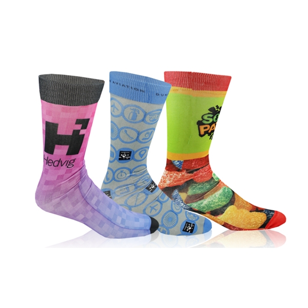 Full-Color Dye-Sublimated Sock