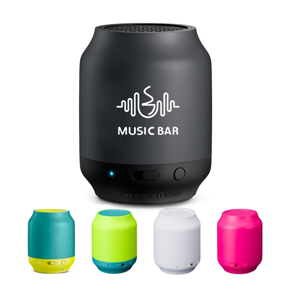 Portable Camera-Control Bluetooth Speaker