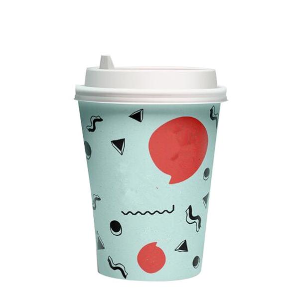 12oz paper cup + lid
