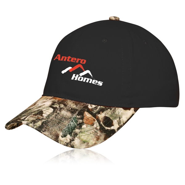 Camouflage Visor Cotton Twill Cap