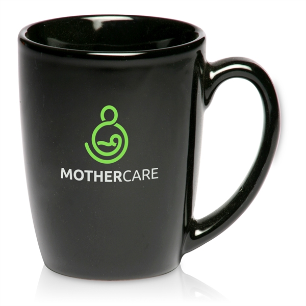 Ceramic Java Coffee Mug - 12 oz