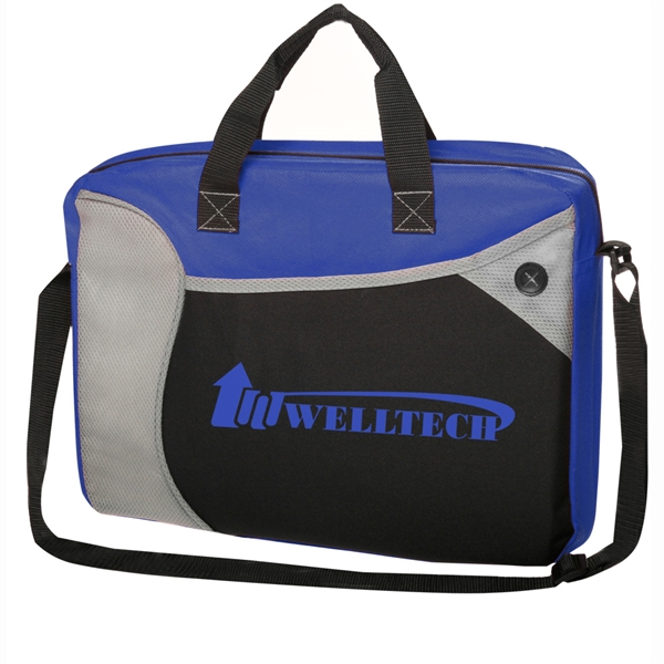 Wave Briefcase-Messenger Bag
