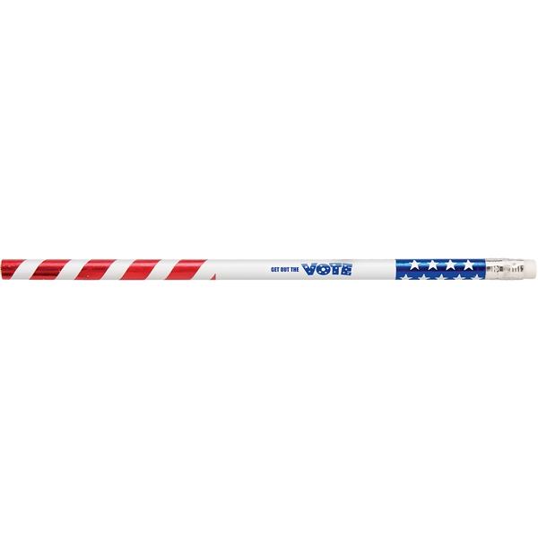 Foiled Foreman™ Patriotic Pencil