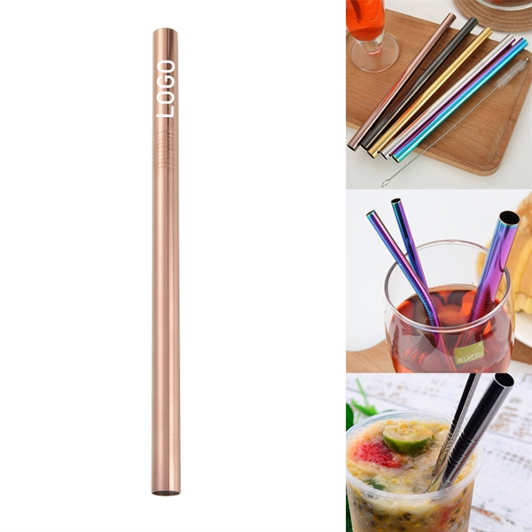 215mm Reusable Stainless Steel Straw