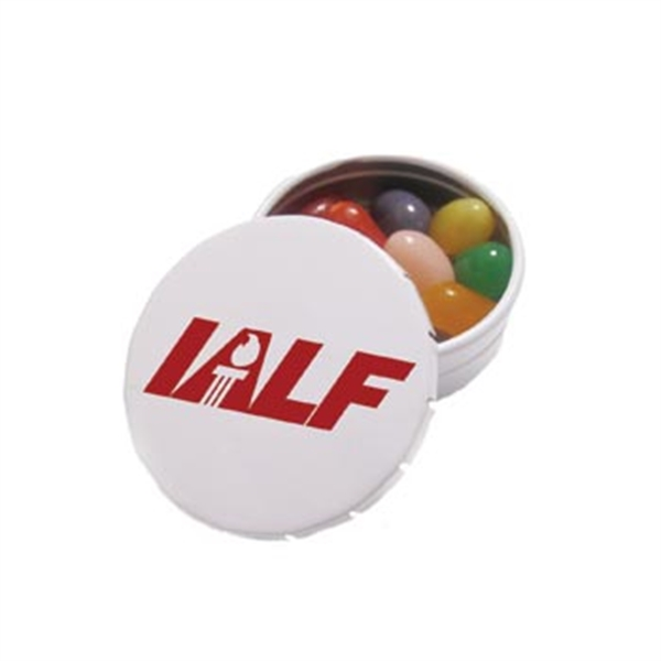 Snap-It Promotional Tin with Jelly Belly (R) Jelly Beans