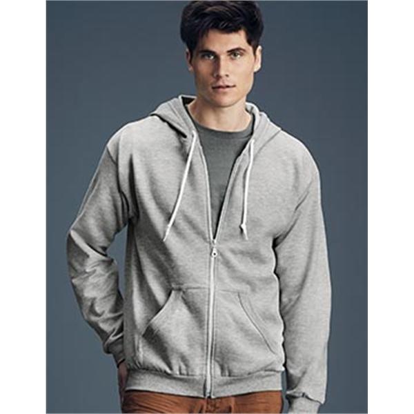 ANVIL® Full-Zip Hooded Fleece