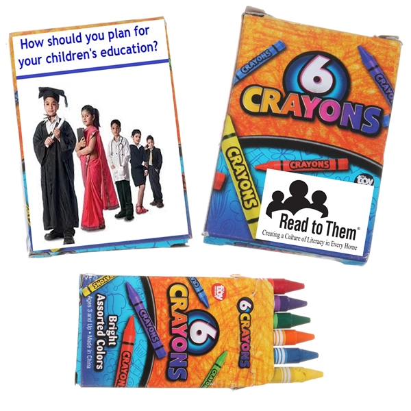 6pk Crayons