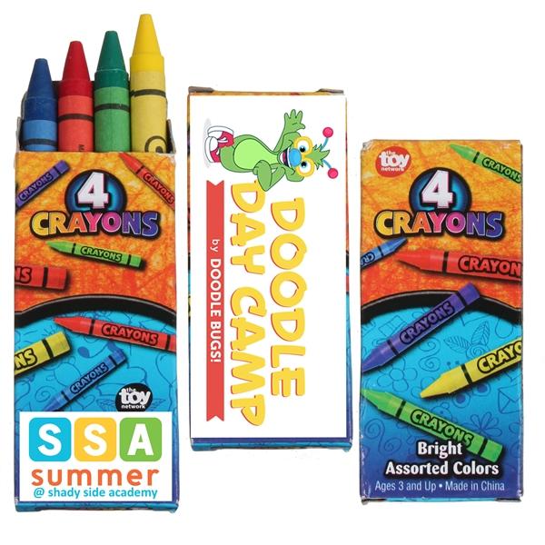 4pk Crayons