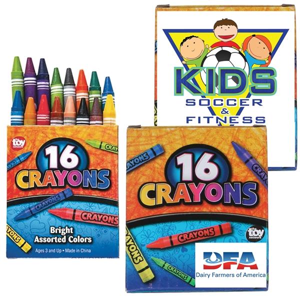 16pk Crayons