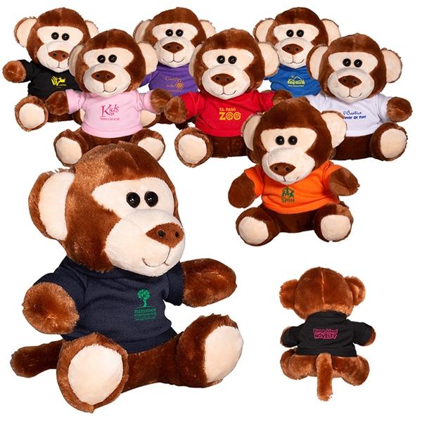 """7"""" Plush Monkey"""