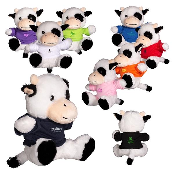"""7"""" Plush Cow"""