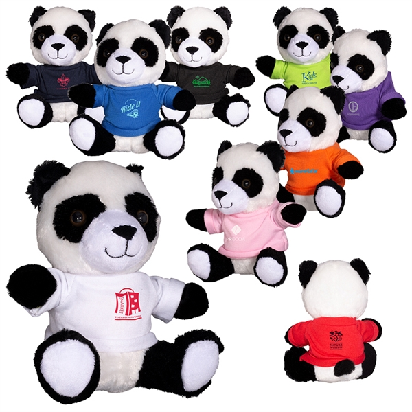 "7"" Plush Panda"