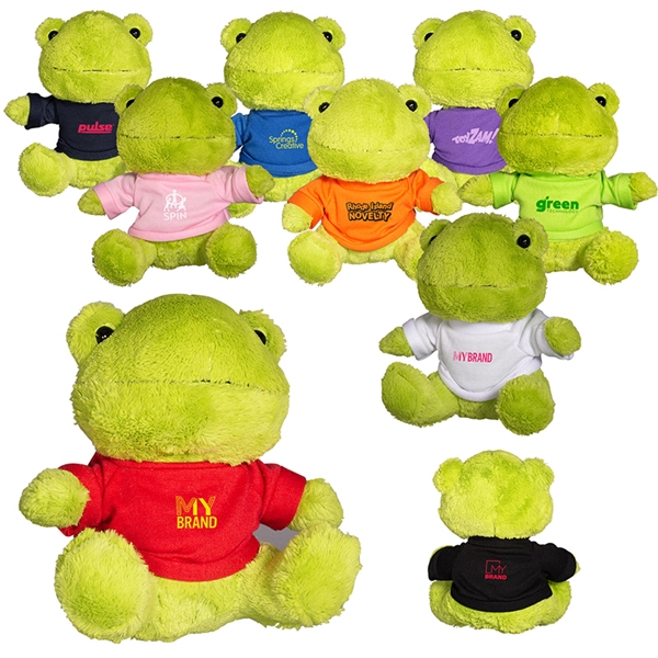 """7"""" Plush Frog"""