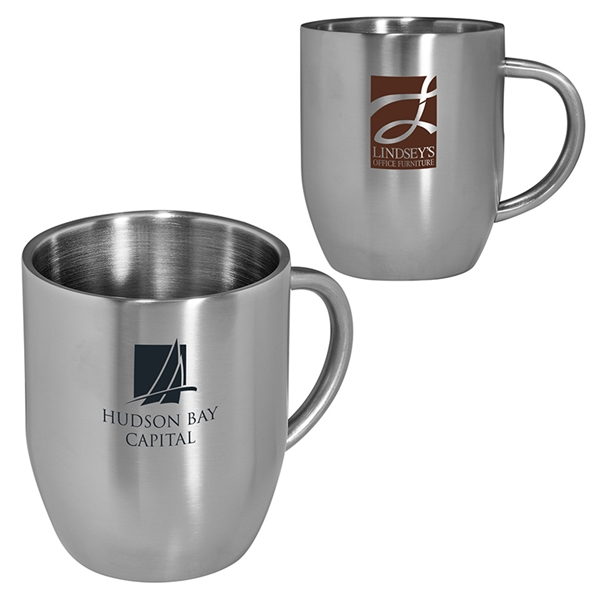 12 oz. Double Wall Stainless Coffee Mug