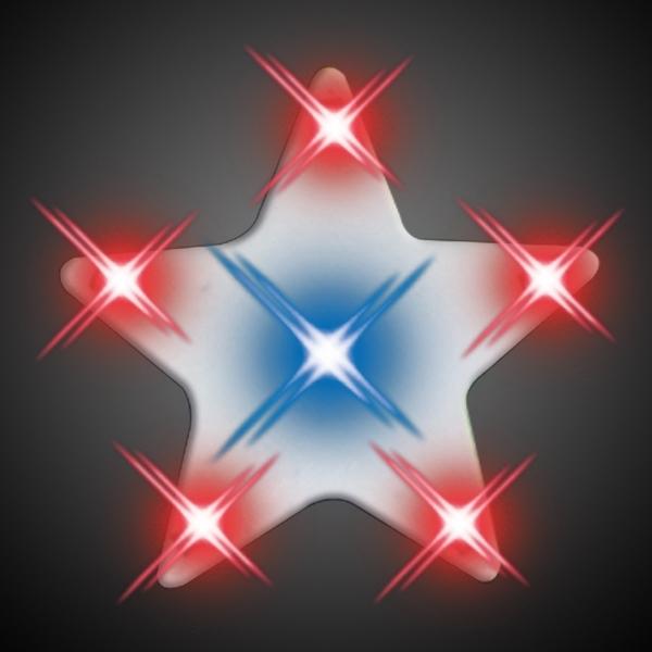 Imprinted Turbo Star Lights