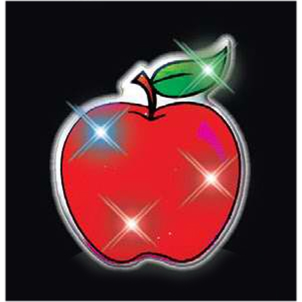Imprinted Red Apple Body Light
