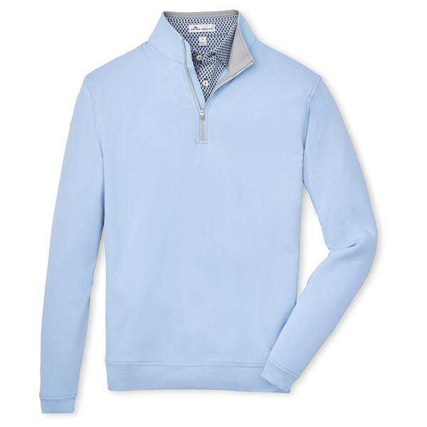 Perth Stretch French Loop Terry Quarter-Zip Pullover
