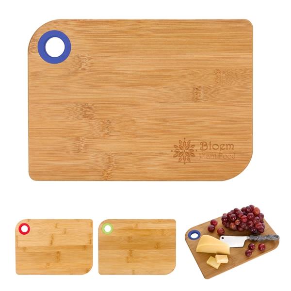 Bamboo Cutting Board With Custom Box