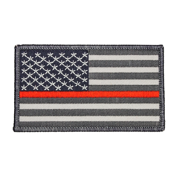 Thin Red Line Firefighters U.S. American Flag Patch
