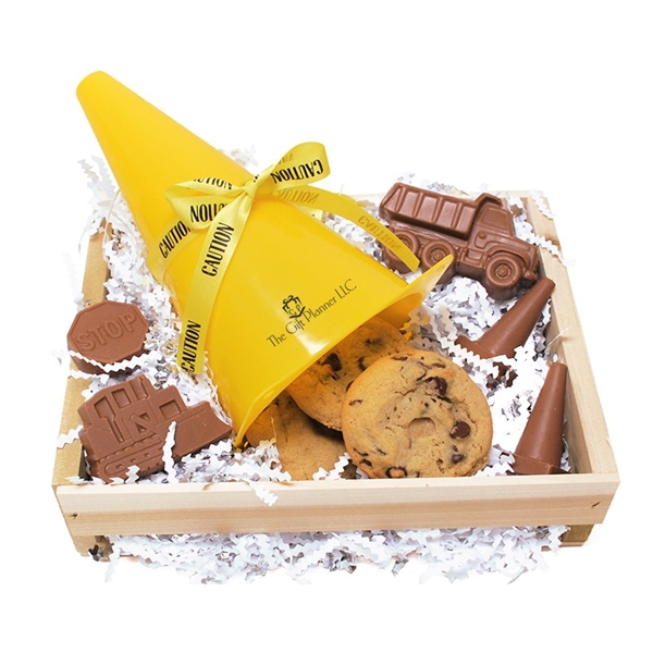 Create A Crate Chocolates And Cookie Safety Cone