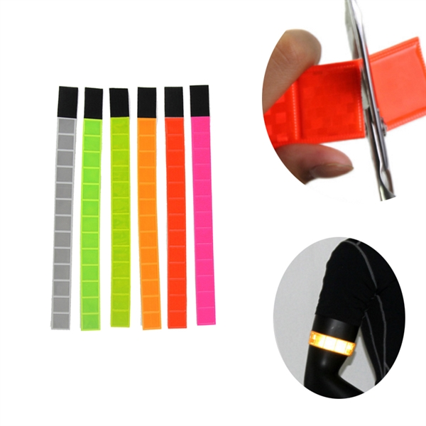 Neon Reflective Velcro Bands